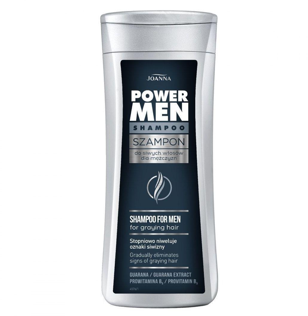 Joanna Joanna Power Hair Szampon do siwych włosów dla mężczyzn 200ml