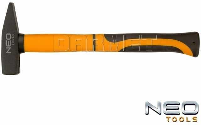 Młotek ślusarski z trzonkiem z włókna szklanego 0,3KG - 298 x 105 x 22MM - NEO TOOLS (25-041)