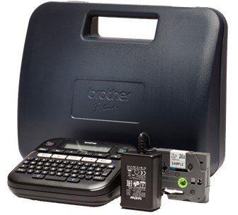 Drukarka etykiet Brother PT-D210VP zestaw z walizką KUP z zamiennikami i oszczędzaj! - ZADZWOŃ 730 811 399