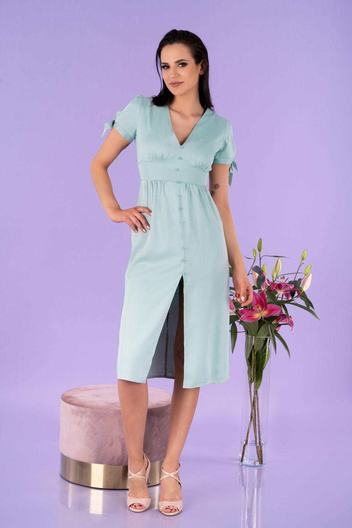 Birgia Mint D145 sukienka
