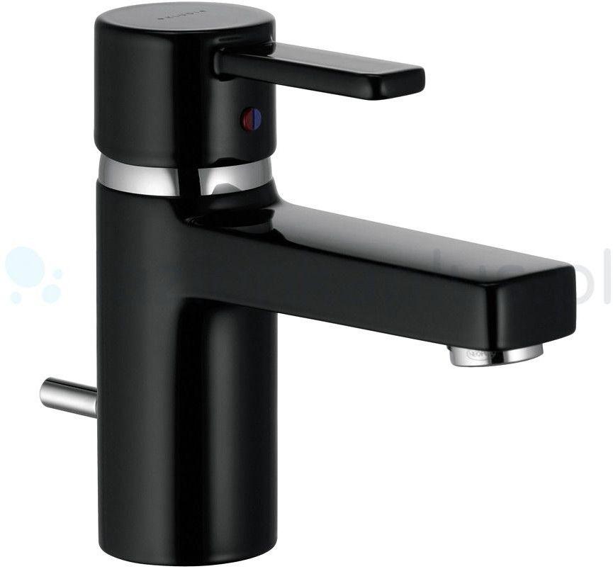 Zenta Kludi bateria umywalkowa czarny/chrom Darmowa dostawa