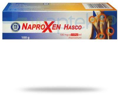 Naproxen Hasco 100mg/g żel przeciwbólowy i przeciwzapalny 100 g