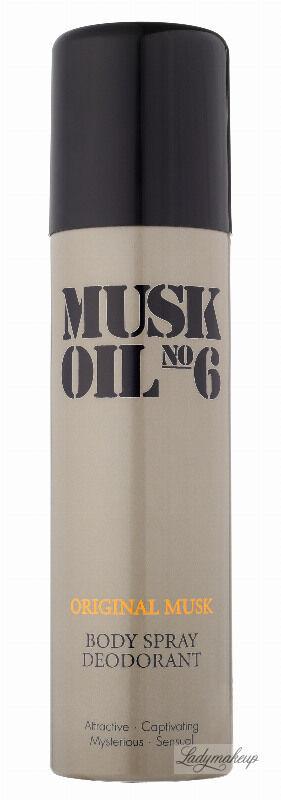 Gosh - ORIGINAL MUSK OIL - Body Spray Deodorant - Dezodorant w aerozolu dla kobiet i mężczyzn