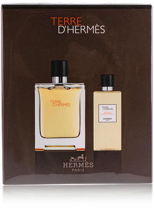 Hermes Terre d''Hermes żel do kąpieli 80ml + woda toaletowa - 100ml