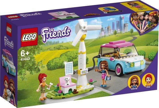 Klocki Friends Samochód elektryczny Olivii 41443
