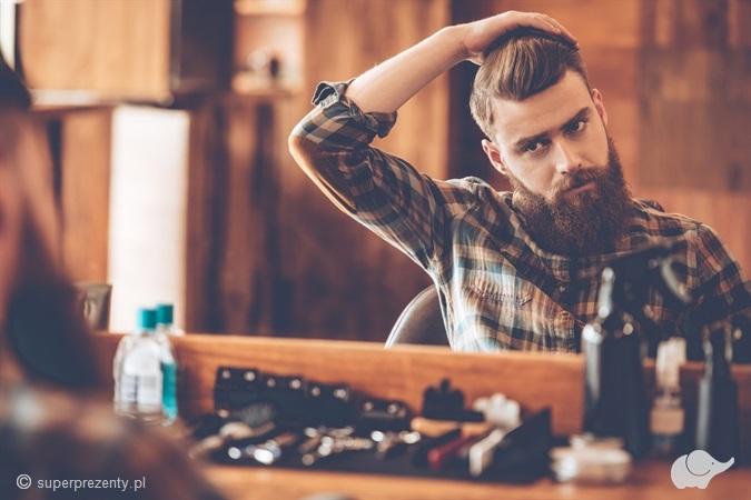 COMBO Strzyżenie i trymowanie brody z podgalaniem brzytwą