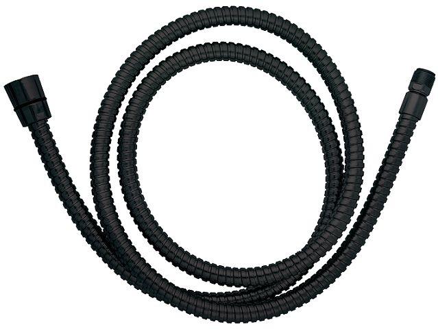 Omnires wąż kuchenno-wannowy 180 cm czarny 062MBL