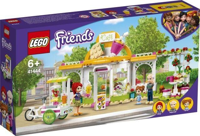 Klocki Friends Ekologiczna kawiarnia w Heart 41444