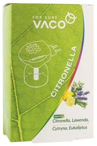 Eco elektro vaco  na komary i muchy  urządzenie + płyn