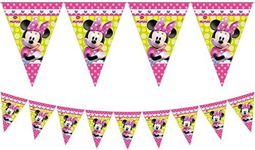 Unique Party 71266 - 2,3 m Disney Minnie Mouse chorągiewki flagi