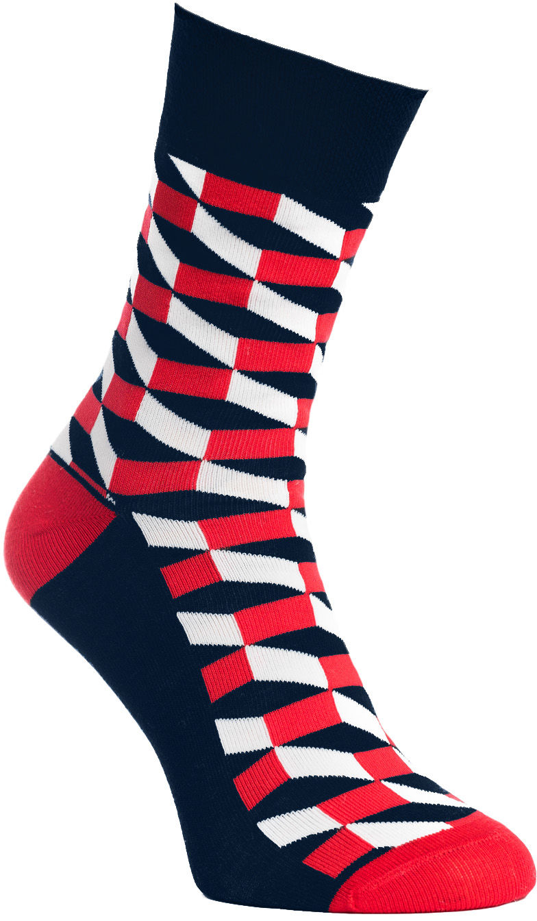 Geometric Print, Todo Socks, W kratkę, Kolorowe Skarpetki