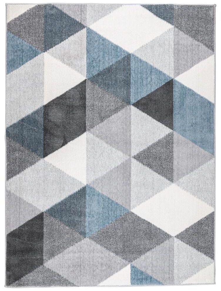Dywan VISTA szaro-niebieski 80 x 140 cm
