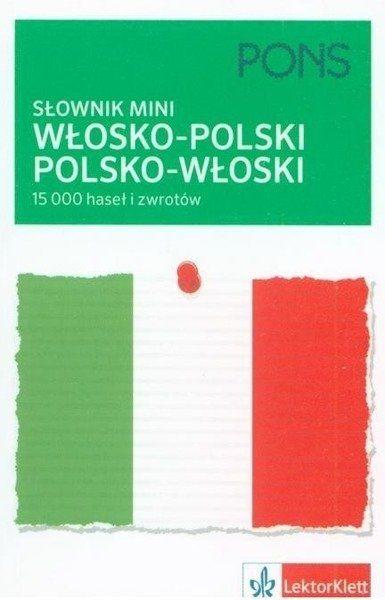 Słownik mini włosko-polski, polsko-włoski - praca zbiorowa
