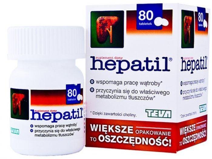 HEPATIL 150 mg 80 tabletek