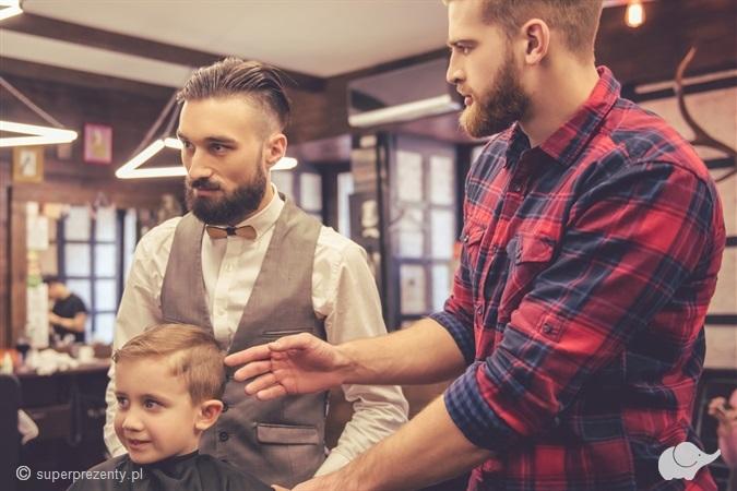 Strzyżenie Ojciec i Syn