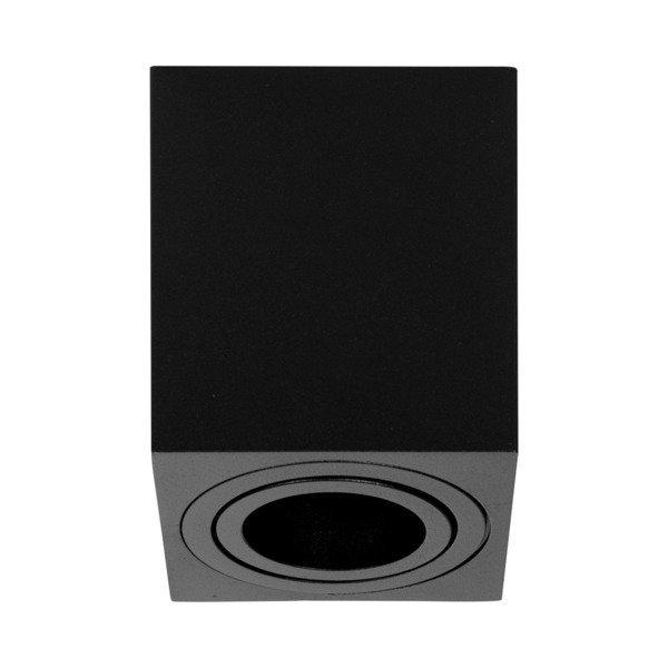 Oprawa sufitowa spot kostka natynkowa SIGEN S szer. 8cm czarny