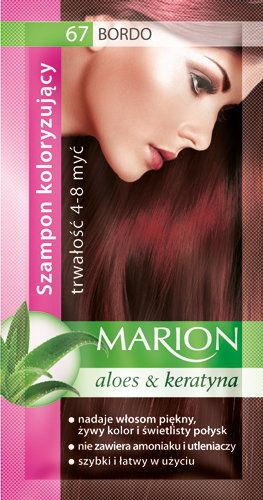 Marion Szampon koloryzujący 4-8 myć 67 Bordo 40ml