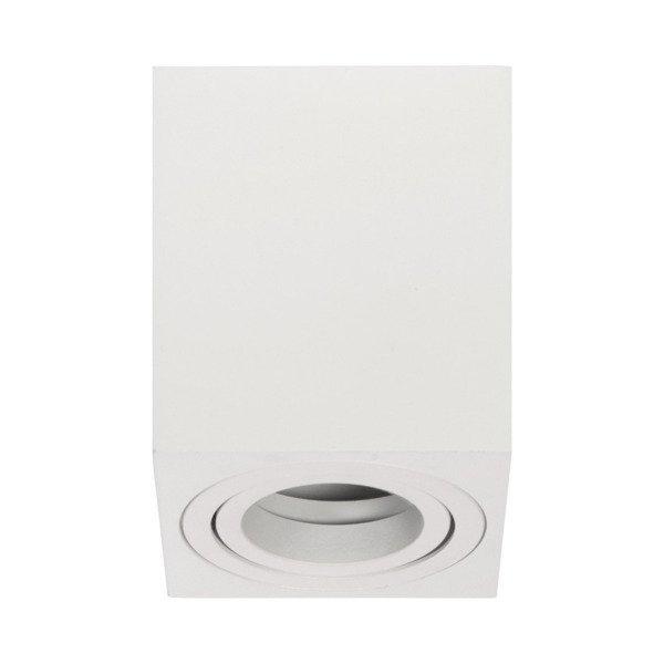 Oprawa sufitowa spot kostka natynkowa SIGEN S szer. 8cm biały