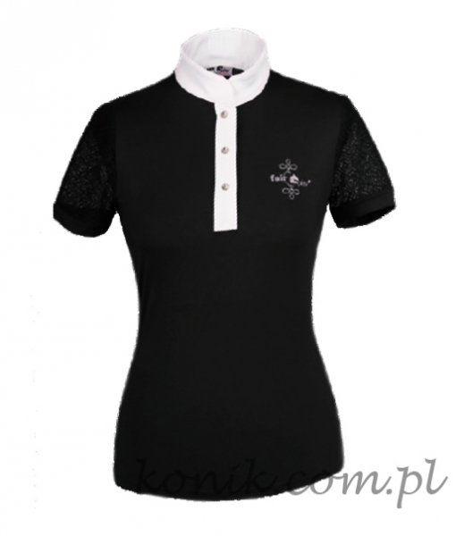 Koszulka konkursowa CECILE - FAIR PLAY - czarny