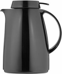 Helios Servitherm termos z tworzywa sztucznego, czarny, 1 litr