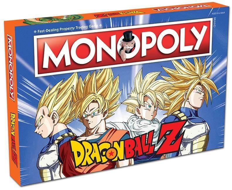 Monopoly Dragon ball ZAKŁADKA DO KSIĄŻEK GRATIS DO KAŻDEGO ZAMÓWIENIA