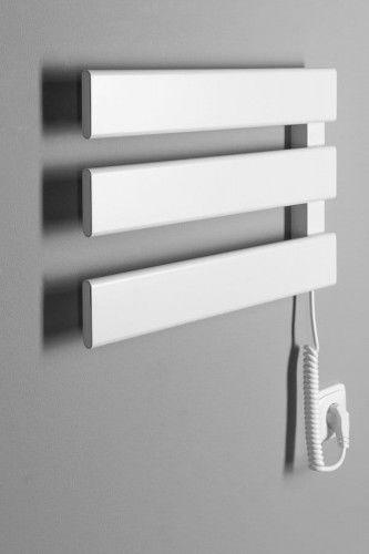 Grzejnik elektryczny- suszarka na ręczniki 48x33x4,5 cm 50 W, BIAŁA