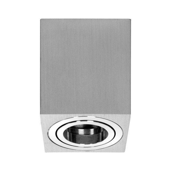 Oprawa sufitowa spot kostka natynkowa SIGEN S szer. 8cm aluminium
