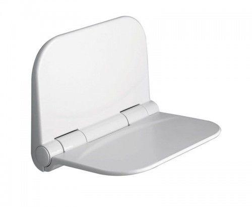 Siedzisko prysznicowe składane 38x30 cm białe DINO