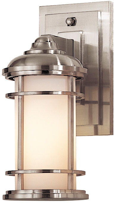 Kinkiet Lighthouse FE/LIGHTHOUSE2 Feiss nowoczesna oprawa ścienna w kolorze szczotkowanej stali