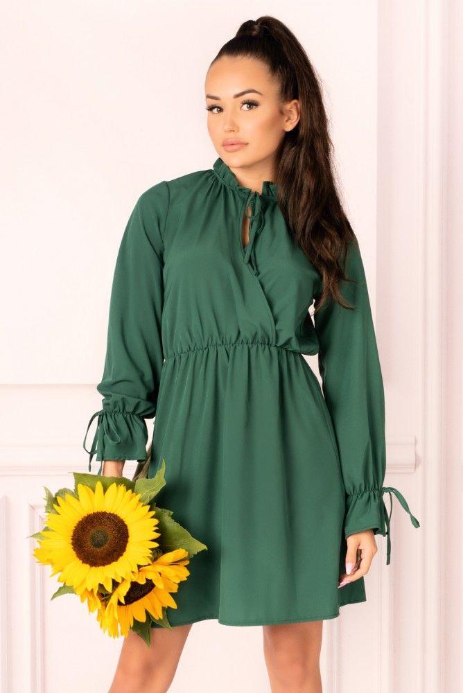 Mirava Dark Green sukienka