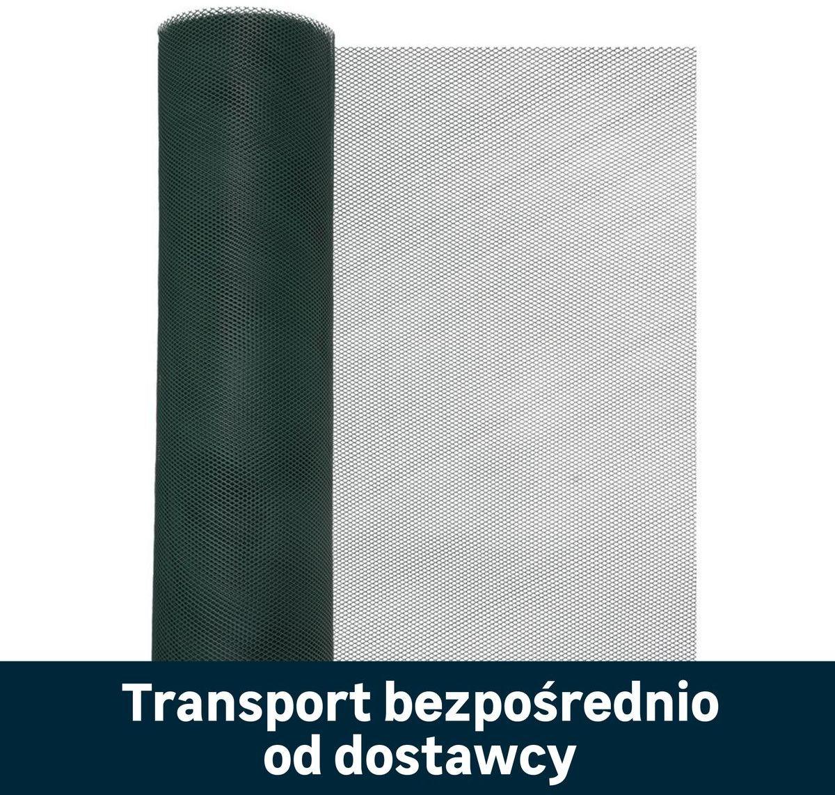 Siatka plastikowa 1 x 25 m 16 szt. zielona