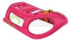 Sanki plastikowe LITTLE SEAL różowe - Prosperplast