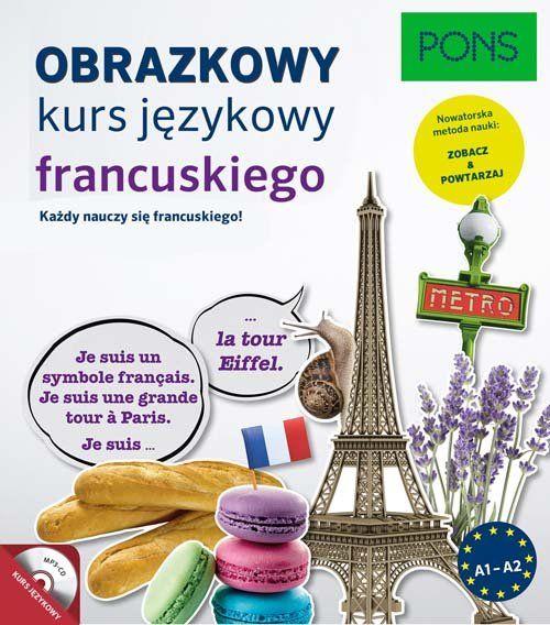 Obrazkowy kurs języka francuskiego ZAKŁADKA DO KSIĄŻEK GRATIS DO KAŻDEGO ZAMÓWIENIA