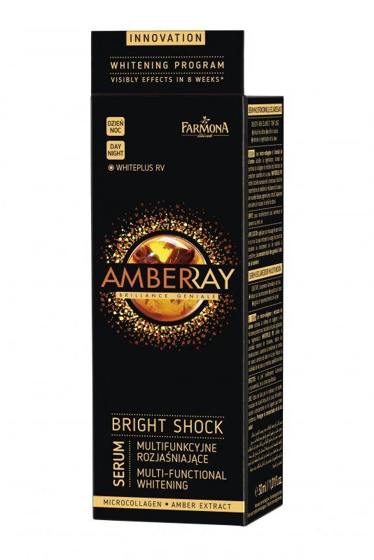 AMBERRAY BRIGHT SHOCK SERUM Multifunkcyjne serum rozjaśniające na dzień/noc