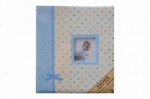 Album Poldom bd-100pg droppy niebieski