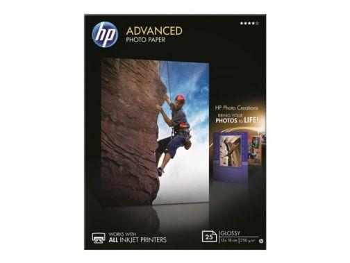 Papier 13 x 18cm HP Advanced Photo, błyszczący bez marginesów, 250g (25 ark) (Q8696A)