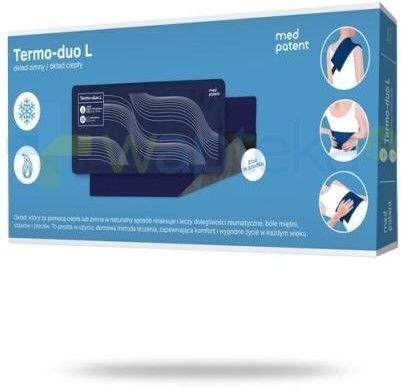Med patent termo-duo okład żelowy ciepło/zimno rozmiar L