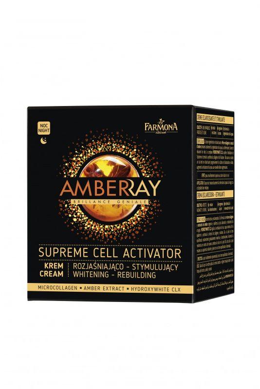 AMBERRAY SUPREME CELL ACTIVATOR Krem rozjaśniajaco-stymulujący na noc