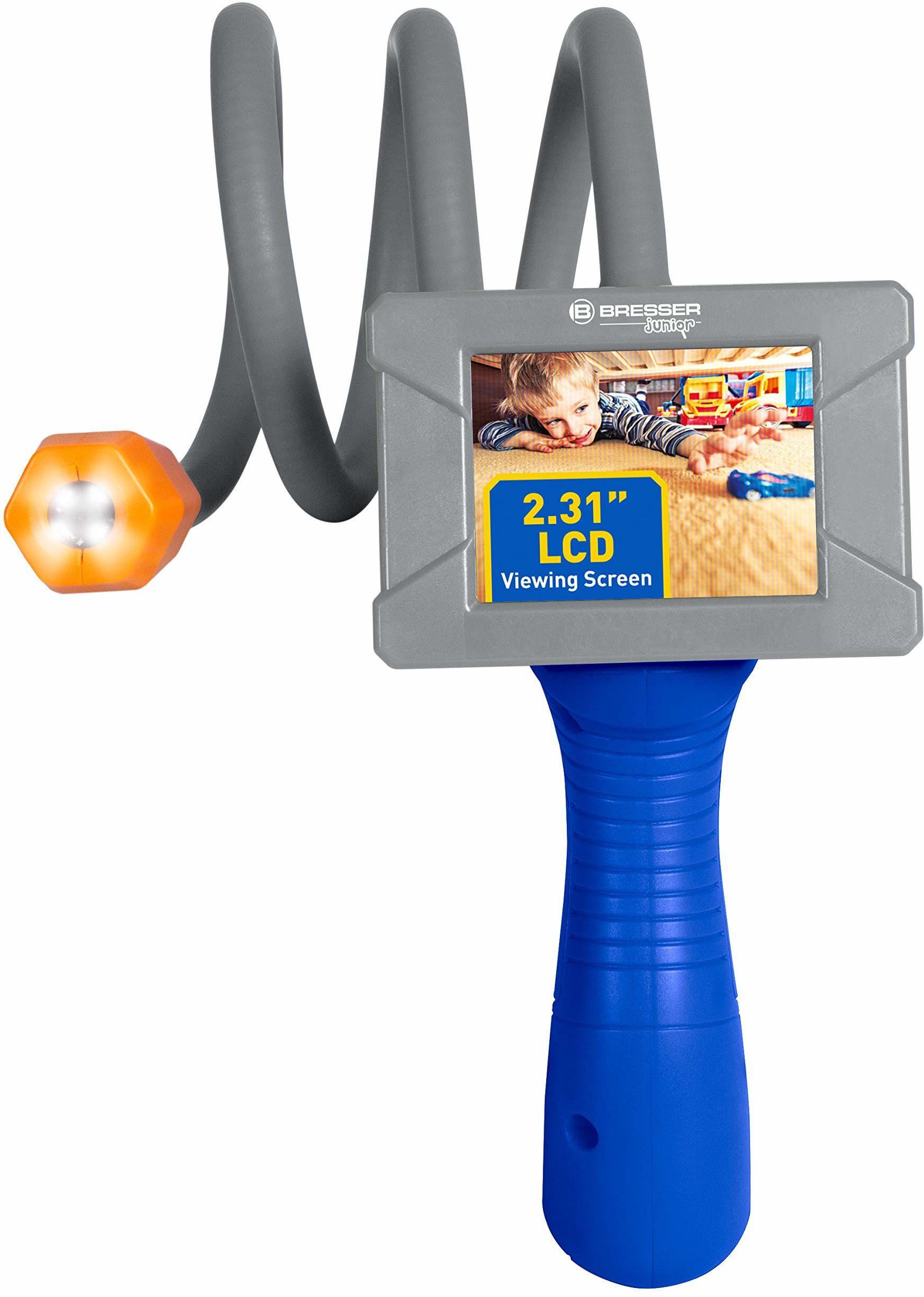 Bresser Junior lornetka odkrywcy, kamera endoskopowa z oświetleniem LED i ekranem