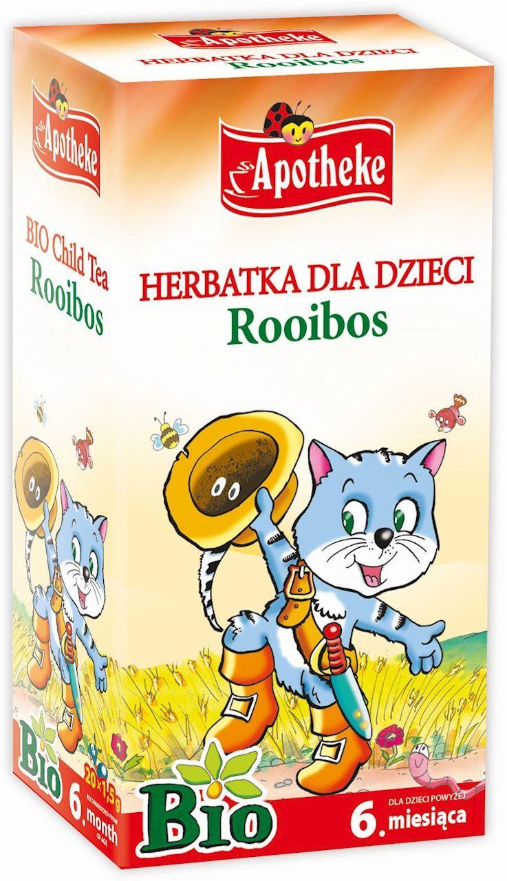 Herbatka dla dzieci - rooibos BIO - Apotheke - 20x1,5g
