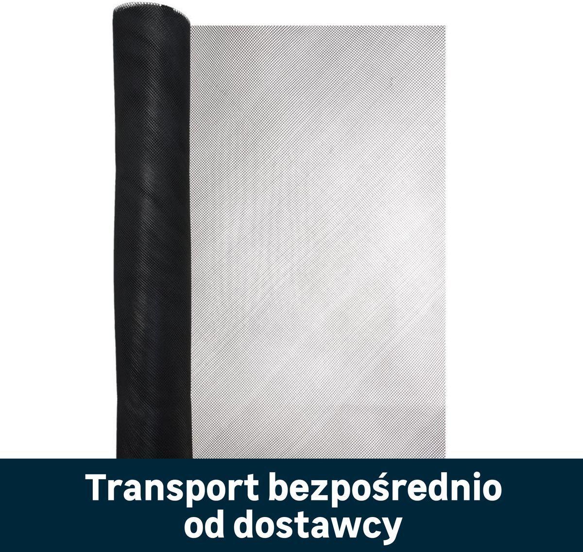 Siatka plastikowa 2 x 25 m czarna