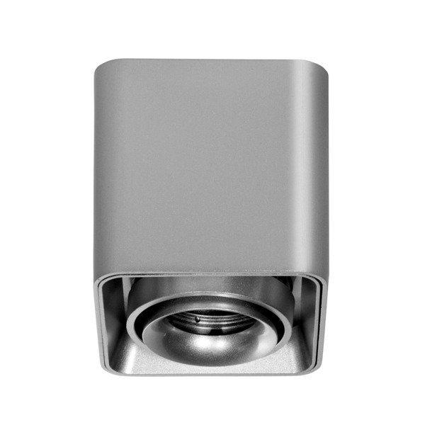 Oprawa sufitowa spot kostka natynkowa BORK S szer. 11,5cm aluminium
