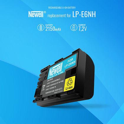 Akumulator Newell zamiennik Canon LP-E6NH