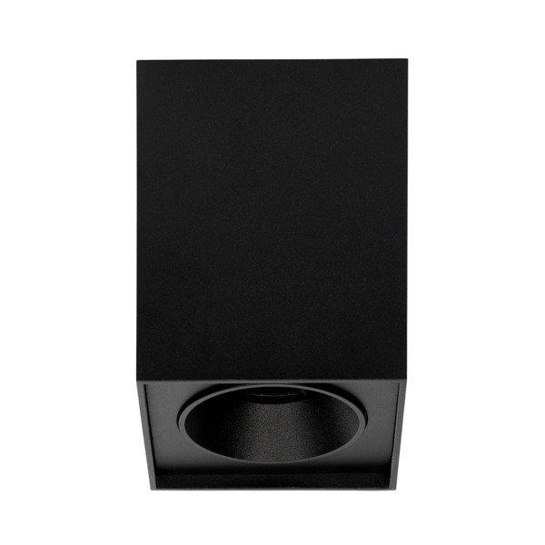 Oprawa sufitowa spot kostka natynkowa FAGLUM szer. 9,5cm czarny