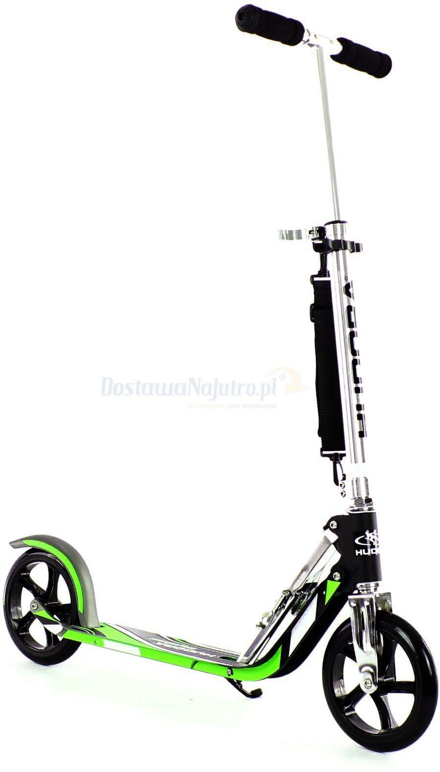 Hulajnoga HUDORA 205mm Big Wheel GS 100kg XXL składana kolor zielony