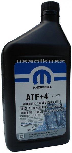 Olej skrzyni biegów MOPAR ATF+4 MS-9602 0,946l