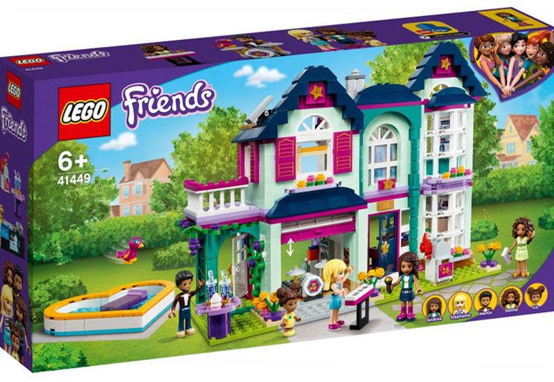 Klocki Friends Dom rodzinny Andrei 41449