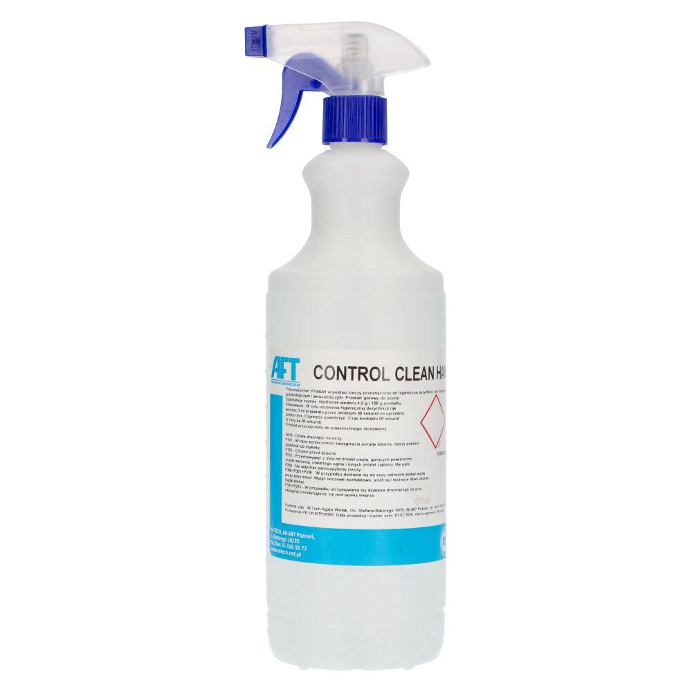Control clean hand - płyn do dezynfekcji rąk o działaniu biobójczym 1 l/ 5 l