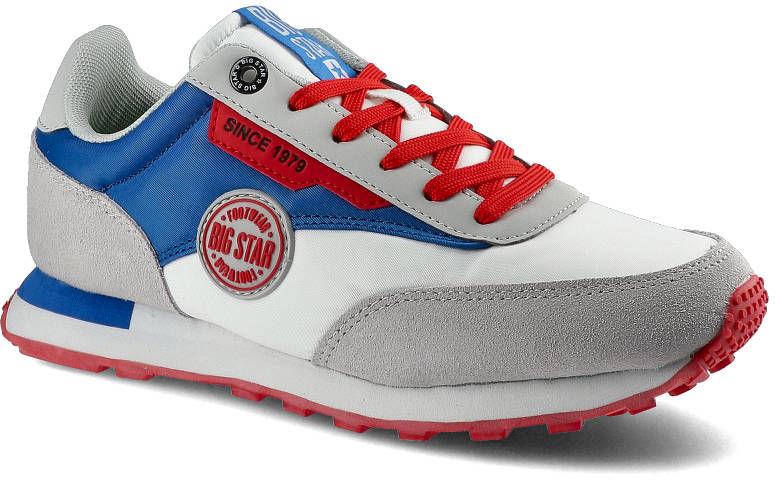 Sneakersy BIG STAR HH274526 Biały/Niebieski