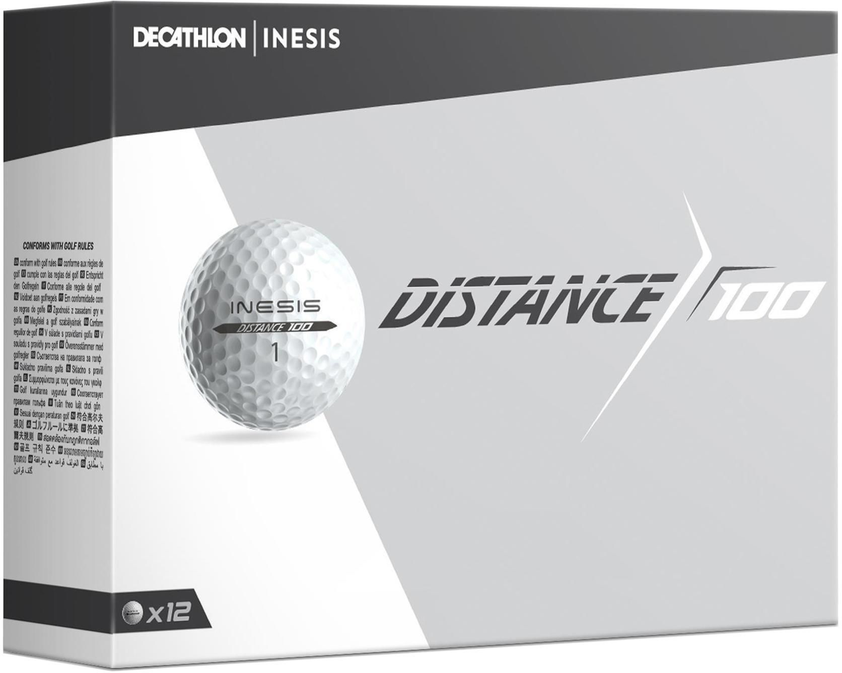 Piłka do golfa Distance 100 X12